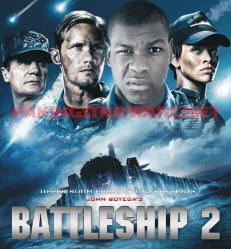 John Boyega To Produce Amp Star In Battleship 2 Faking