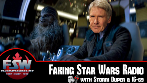 Faking Star Wars - Comedy | Parody | Satire